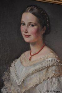 Maria Zanders als Braut